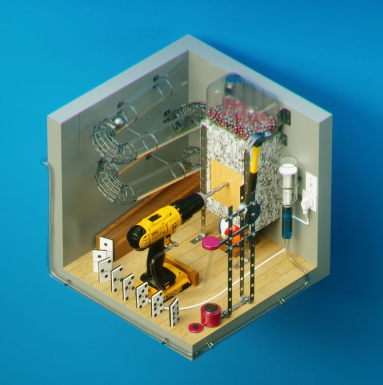 Amstudio cube